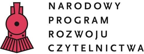 LOGO: Narodowy Program Rozwoju Czytelnictwa