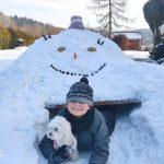 Konkurs Rzeźba w śniegu Marcel Plewka