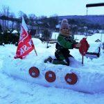 Konkurs Rzeźba w śniegu Martyna Sergiel